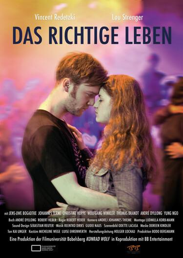 Filmplakat Das richtige Leben