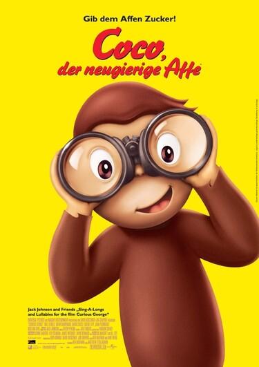 Filmplakat Coco, der neugierige Affe