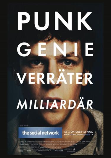 """Filmplakat zu """"The Social Network"""""""