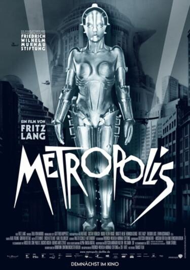 "Filmplakat zu ""Metropolis"""