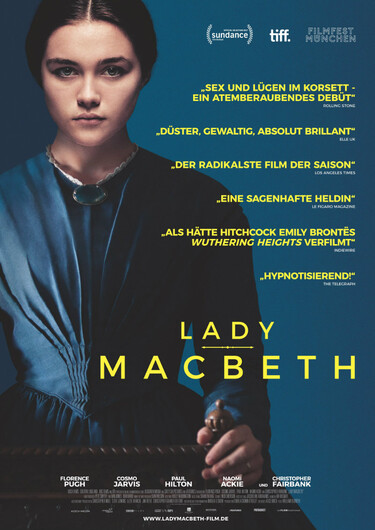 Filmplakat Lady Macbeth