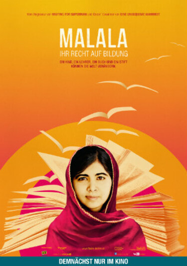 """Filmplakat zu """"Malala - Ihr Recht auf Bildung"""""""