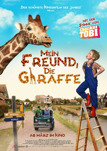 Filmplakat Mein Freund die Giraffe