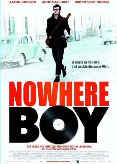 """Filmplakat zu """"Nowhere Boy"""""""