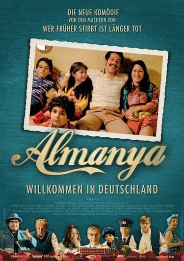 """Filmplakat zu """"Almanya - Willkommen in Deutschland"""""""
