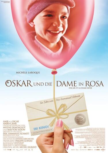 """Filmplakat zu """"Oskar und die Dame in Rosa"""""""