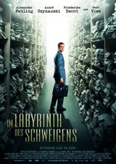"""Filmplakat zu """"Im Labyrinth des Schweigens"""""""