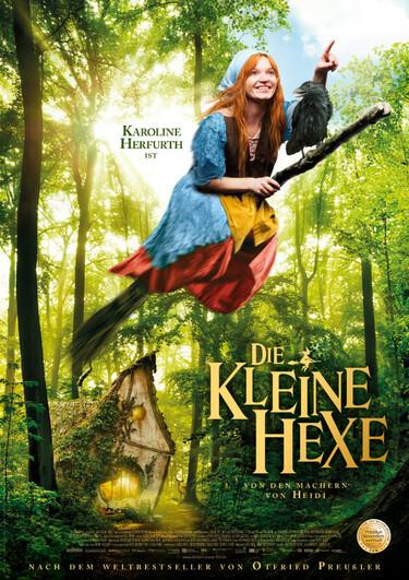 Filmplakat Die kleine Hexe