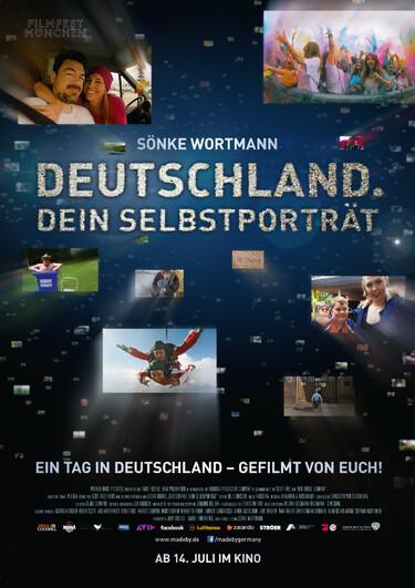 Filmplakat Deutschland. Dein Selbstporträt