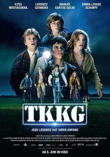 Filmplakat TKKG - Jede Legende hat ihren Anfang