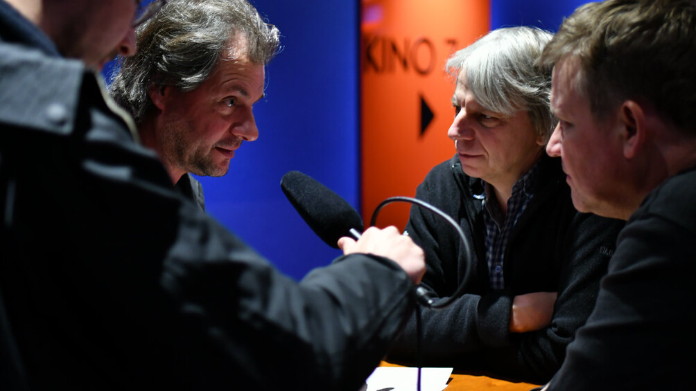 Der Redakteur des Kongressradios im Gespräch mit Andreas Dresen und Justus von Dohnányi