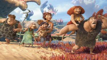 Familie Croods unterwegs in der Steppe