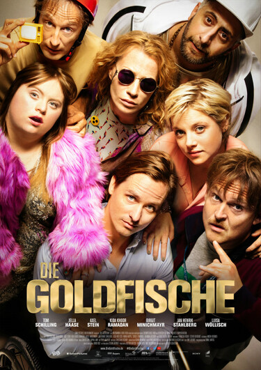 Filmplakat Die Goldfische