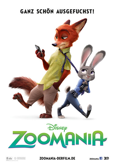 Filmplakat Zoomania