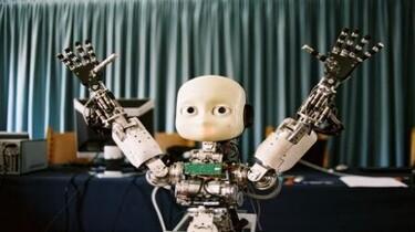 Szenenbild: Ein Roboter