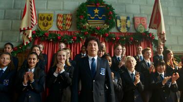 Szenenbild: Die Schüler der Eliteschule