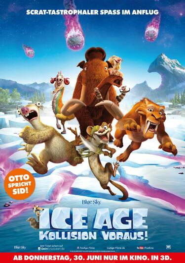 Filmplakat Ice Age - Kollision voraus!