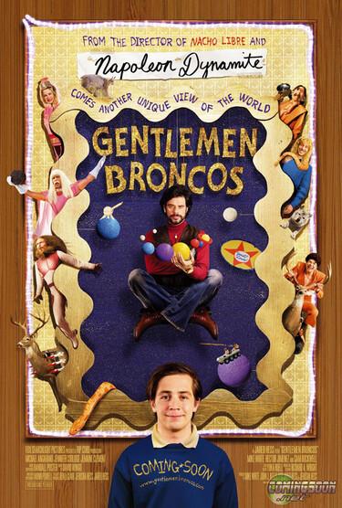 """FIlmplakat zu """"Gentlemen Broncos"""""""