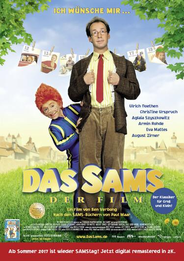 Filmplakat Das Sams - Der Film
