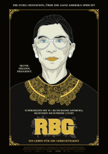 Filmplakat RBG - Ein Leben für die Gerechtigkeit