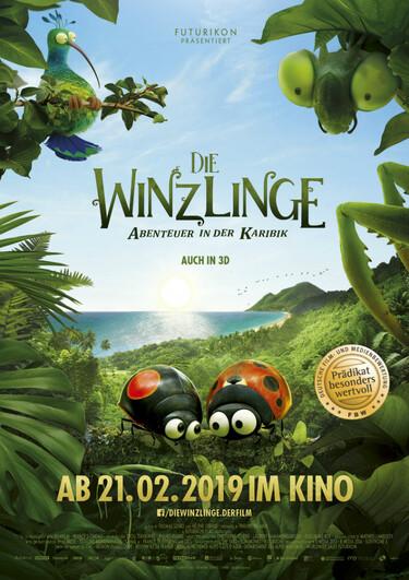 Filmplakat Die Winzlinge - Abenteuer in der Karibik