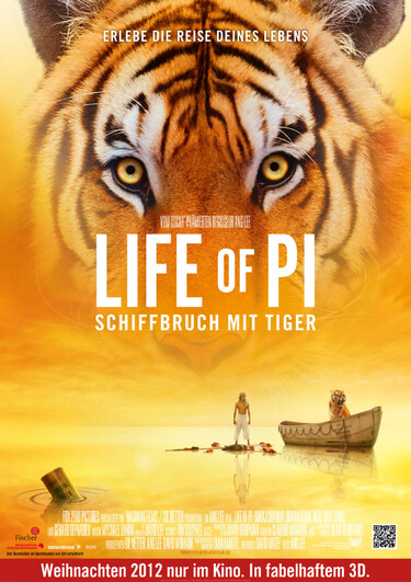 Filmplakat Life of Pi