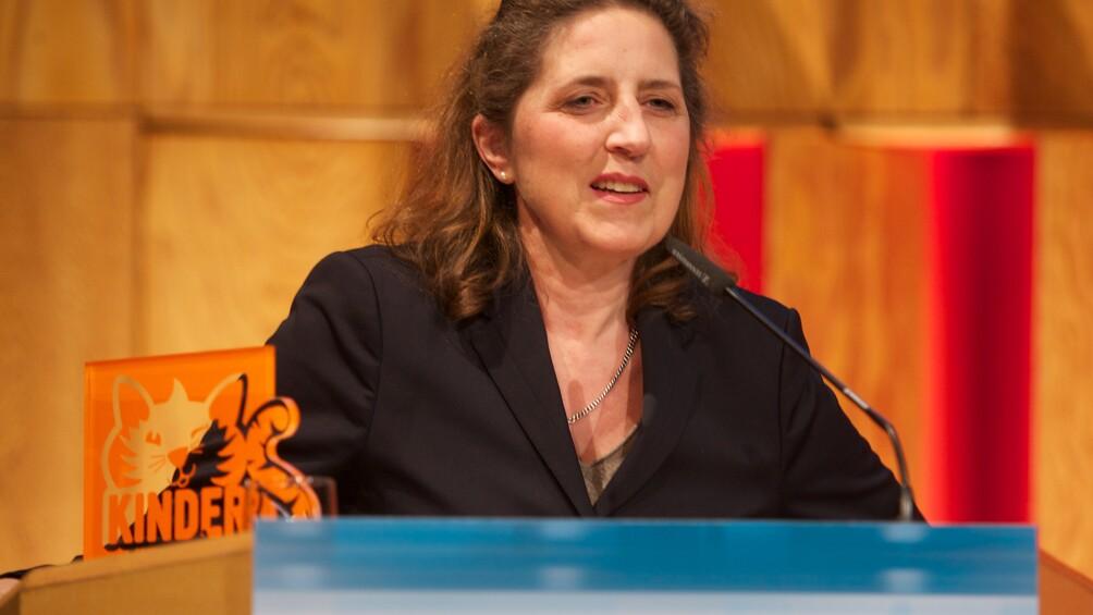Petra Müller von der Film- und Medienstiftung Nordrhein Westfalen