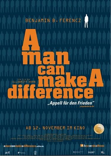 """Filmplakat zu """"A man can make a difference"""""""