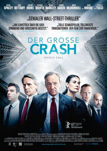 Filmplakat Der große Crash - Margin Call