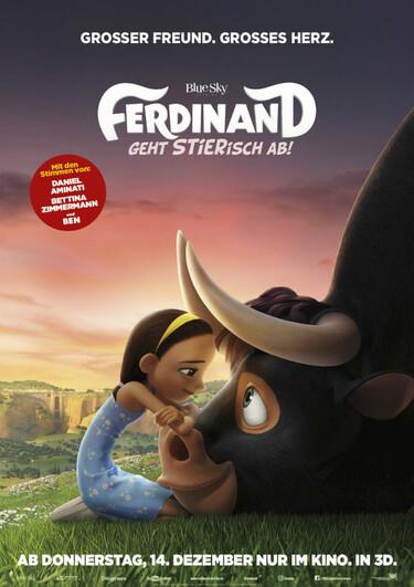Filmplakat Ferdinand - geht sTIERisch ab