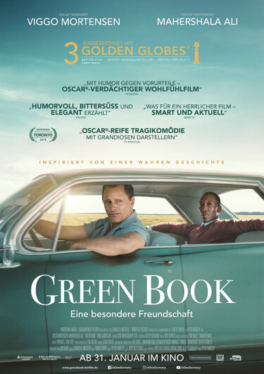 Filmplakat Green Book