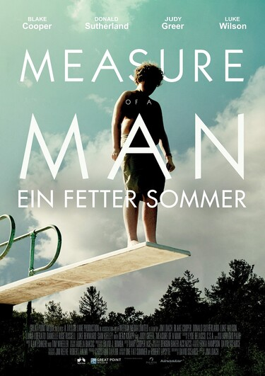 Filmplakat Measure of a Man - Ein fetter Sommer