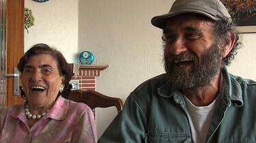 Szenenbild: Chaim Lubelski und seine Mutter