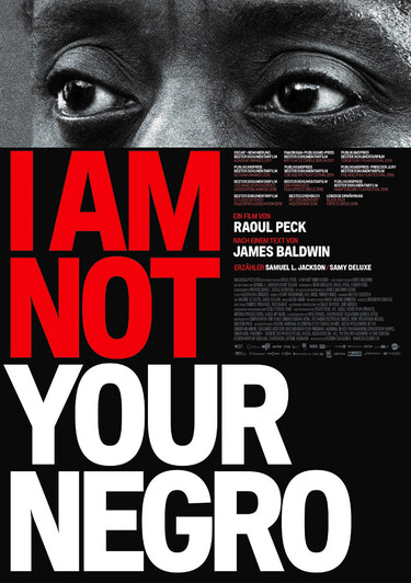 Filmplakat I Am Not Your Negro