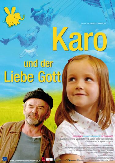 """Filmplakat zu """"Karo und der liebe Gott"""""""