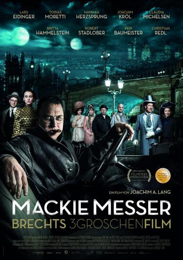 Filmplakat Mackie Messer - Brechts Dreigroschenfilm