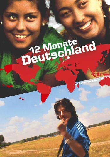 """Filmplakat zu """"12 Monate Deutschland"""""""