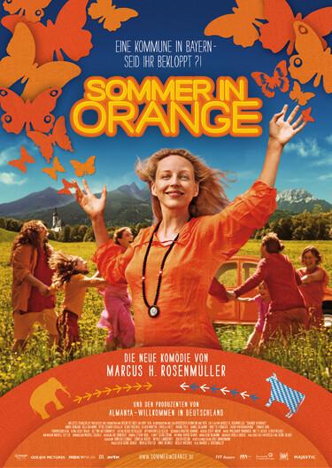 """Filmplakat zu """"Sommer in Orange"""""""