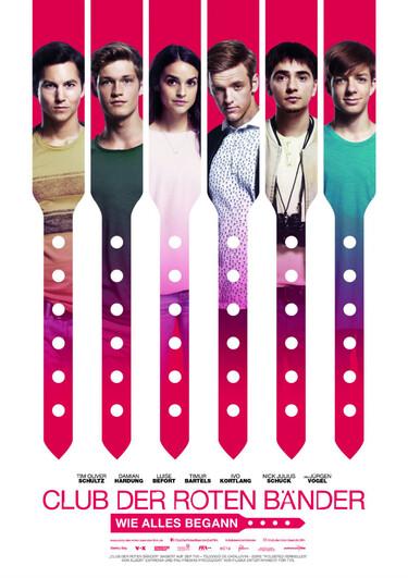 Filmplakat Club der roten Bänder - Wie alles begann