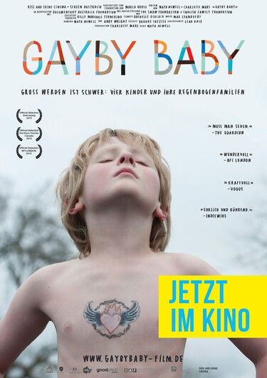 Filmplakat Gayby Baby