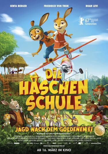 Filmplakat Die Häschenschule - Jagd nach dem goldenen Ei