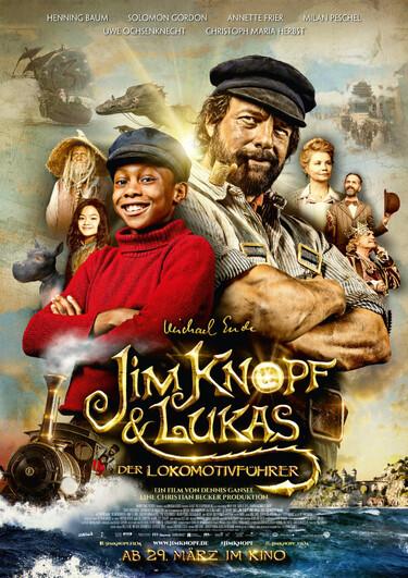 Filmplakat Jim Knopf und Lukas der Lokomotivführer