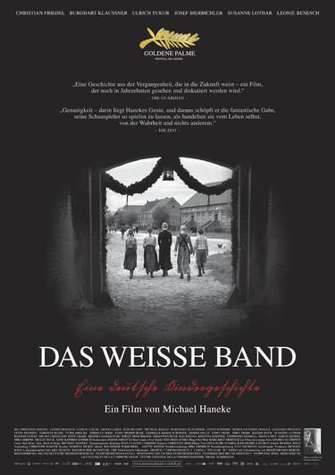 """Filmplakat zu """"Das weiße Band"""""""