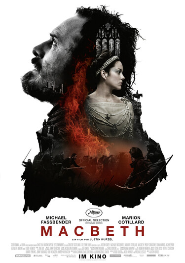 "Filmplakat zu ""Macbeth"""