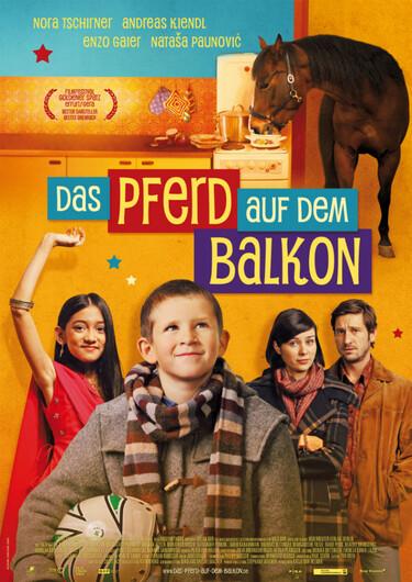"""Filmplakat zu """"Das Pferd auf dem Balkon"""""""