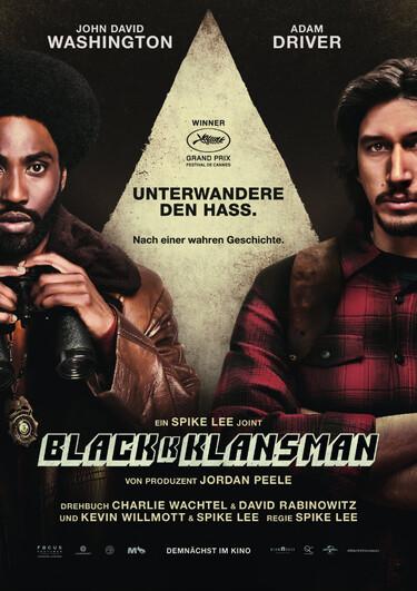 Filmplakat BlacKkKlansman