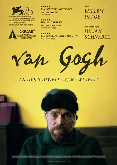 Filmplakat Van Gogh - An der Schwelle zur Ewigkeit