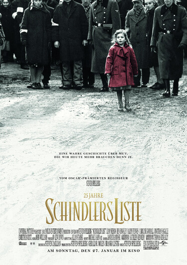 Filmplakat Schindlers Liste