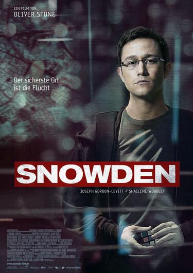 Filmplakat Snowden