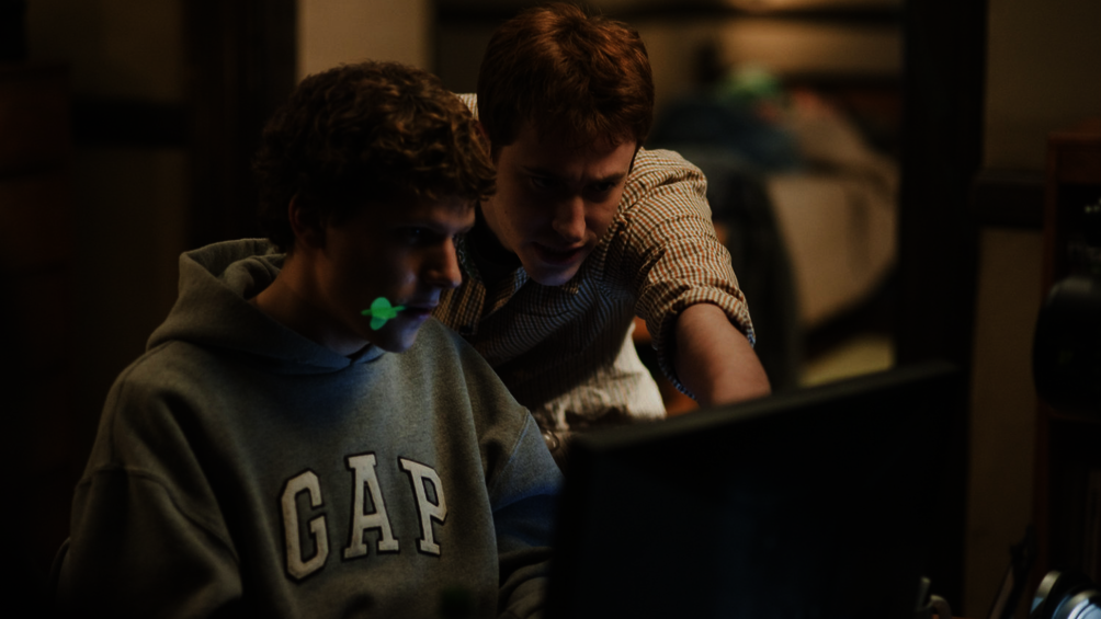 The Social Network, copyright Sony Pictures